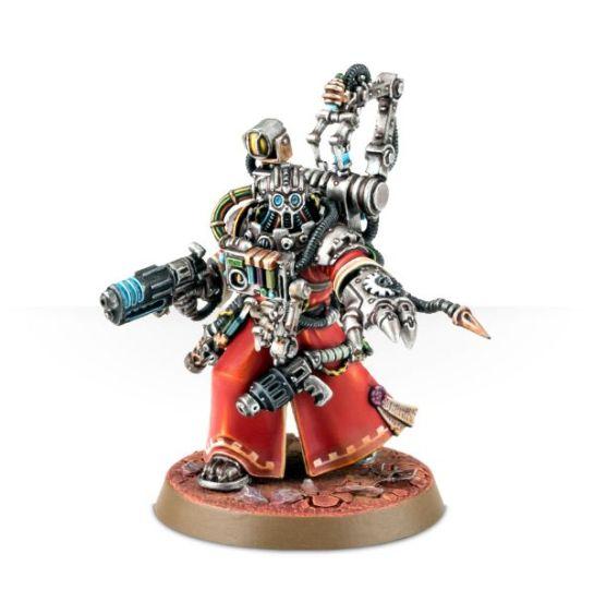 Tecnosacerdote Cybernetica Datasmith Adeptus Mechanicus Kastelan Robots 1